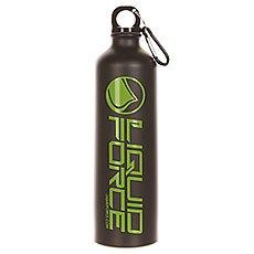Бутылка для воды Liquid Force Water Bottle Carabineer Black