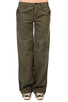 Штаны прямые женские Zoo York Armored Pant Army Fatique