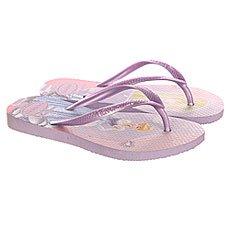 Вьетнамки детские Havaianas Slim Princess Purple/Multi