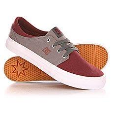 ���� ������ DC Trase Tx Shoe Oxblood/Lt Grey