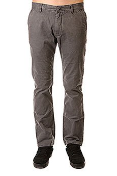 Джинсы прямые Quiksilver Everyday Chino Ndpt Dark Shadow