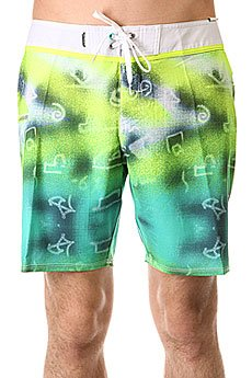 ����� ������� Quiksilver Glitched Bdsh Glitched Pool Green