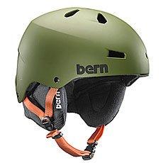 ���� ��� ��������� Bern Snow Eps Macon Matte Olive Green / Black Liner