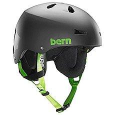 ���� ��� ��������� Bern Snow Eps Team Macon Eps Matte Black/Cordova Earflaps