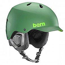 Шлем для сноуборда Bern Snow Eps Watts Eps Leaf Matte Green/Black Liner