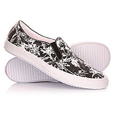 Слипоны женские Roxy Blake J Shoe Black/White