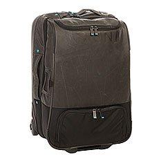 Сумка дорожная Nixon Weekender Carry On Roller Bag Black
