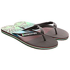 ��������� Quiksilver Molokai Ag47 Re Sndl Black/Red/Green