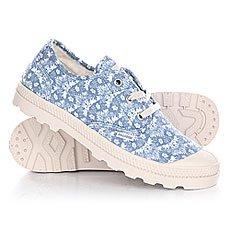 Ботинки низкие женские Palladium Pampa Oxford Lp Tw P Coronet Blue/Cement Grey