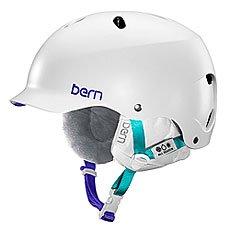 ���� ��� ��������� ������� Bern Snow EPS Lenox Satin White/White Liner