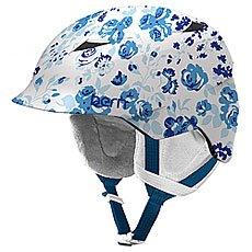 Шлем для сноуборда детский Bern Snow Zipmold Camina Satin White Floral/White Liner