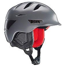 Шлем для сноуборда Bern Snow Zipmold Rollins Satin Grey/Black Liner