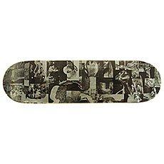 Дека для скейтборда Absurd Collage 1 Grey/Black 32.175 x 8.375 (21.3 см)