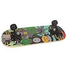 Скейтборд в сборе детский детский Fun4U Black Animals Multi 20 x 6 (15.2 см)