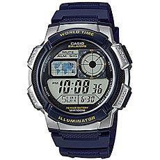 Электронные часы Casio Collection Ae-1000w-2a Blue/Grey