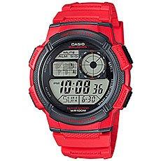 Электронные часы Casio Collection Ae-1000w-4a Red/Black