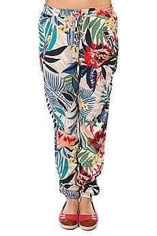 Штаны прямые женские Roxy Sunday Canary Islands Floral