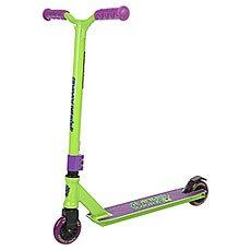 Самокат Slamm Scooters Tantrum Iv Green/Purple