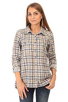 Рубашка в клетку женская Billabong Sol Rider Blue Cruz