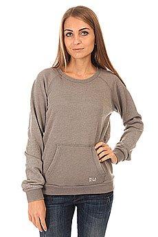 Толстовка кенгуру женская Billabong Essential Cr Dk Athl Grey