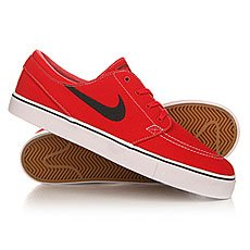 ���� ������ Nike Zoom Stefan Janoski Cnvs University Red/Light Brown/White