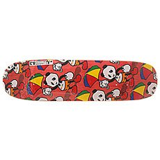 Дека для лонгборда Enjoi S6 Cartoon R7 Multi Panda Red 31.8 x 8.375 (21.3 см)