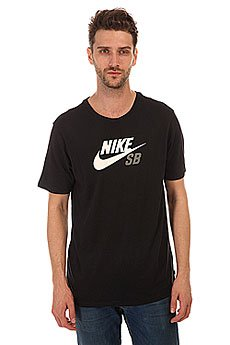 �������� Nike SB Dri Fit Icon Logo Tee Black