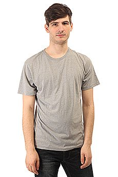 �������� DC Basic Crew Tee Heather Grey