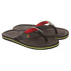 ��������� Quiksilver Haleiwa Deluxe Sndl Xkrg Black/Red/Green