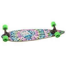 Скейт круизер Dusters Moto Longboard Neon Tie Dye 8.25 x 34 (86.3 см)