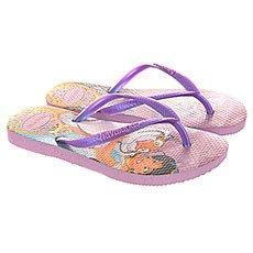 Вьетнамки детские Havaianas Sim Princess Deep purple/Multi