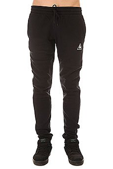 Штаны спортивные Le Coq Sportif Pant Bar Slim Brushed Black
