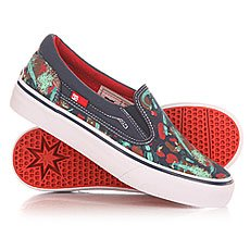 ������� ������� DC Trase Slip On S Navy/Red