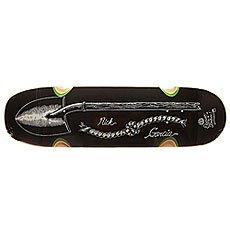 Дека для скейтборда Element Garcia Shovel Timber Black 32.125 x 8.75 (22.2 см)
