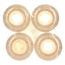 ������ ��� ���������� Element Pattern Street White/Gold 101A 52 mm