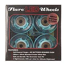 Колеса для лонгборда Sunset Cruiser Wheel With Abec9 Aqua 78A 59 mm
