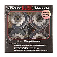 Колеса для лонгборда Sunset Long Board Wheel With Abec9 White 78A 65 mm