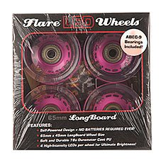 ������ ��� ��������� Sunset Long Board Wheel With Abec9 Purple 78A 65 mm