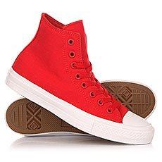 ���� ������� Converse Chuck Taylor All Star Ii Core Salsa Red/White