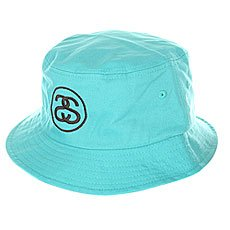 Панама Stussy link Bucket Hat Teal