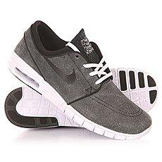 ��������� Nike SB Stefan Janoski Max L Black/Black/White/Wolf Grey
