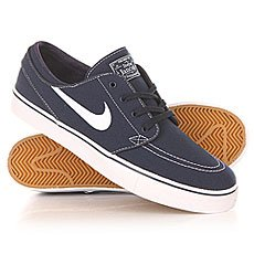 ���� ������ Nike SB Zoom Stefan Janoski Cnvs Obsidian/White/Gum/Light Brown