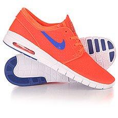 Кроссовки Nike SB Stefan Janoski Max Total Crimson/Racer Blue/White