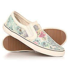 Слипоны женские British Knights Jam Mint Lace Rose/White