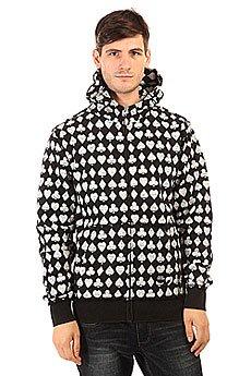 Толстовка классическая Fallen Cobra Hood Fleece Black/White/Suits