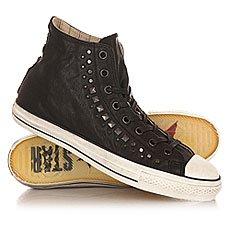 Кеды высокие Converse Chuck Taylor All Star Studded Black/Gunmetal