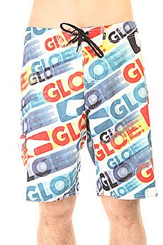 Шорты пляжные Globe La Matrix Boardie 21 White