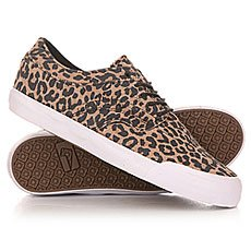 Кеды низкие Globe The Taurus Leopard/White
