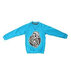 Толстовка свитшот детская Shweyka Crewneck Blue
