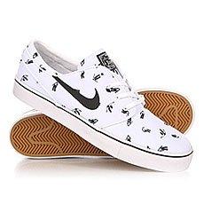 Кеды низкие Nike Zoom Stefan Janoski Cnvs Prm White/Black